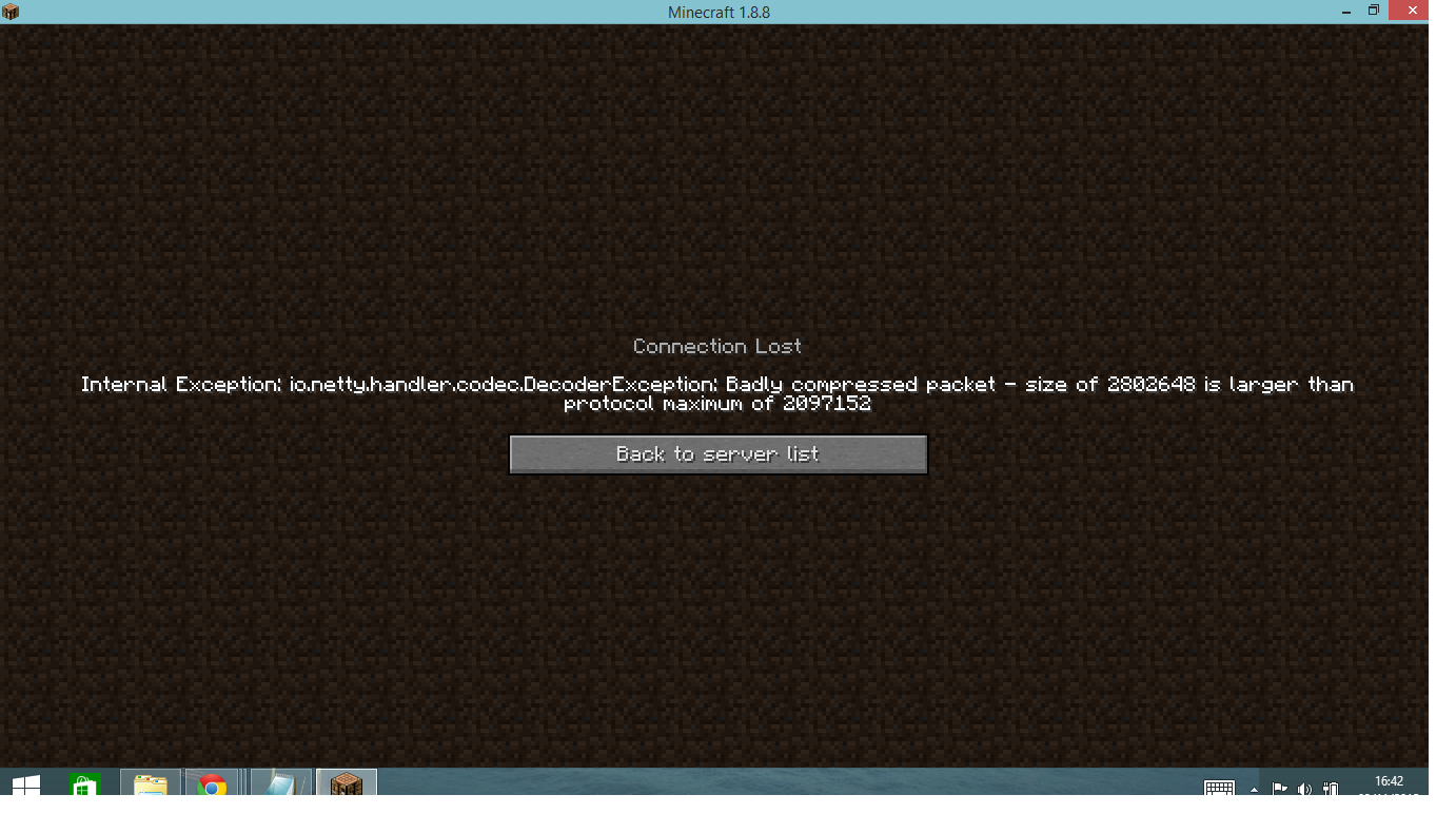 Badly Compressed packet | CowCraft